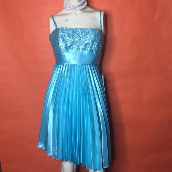 e76db14a4af Jessica McClintock Lace Up Back Evening Dress
